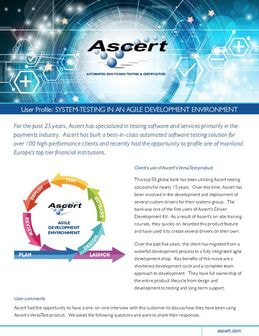 ascert customer profile